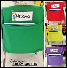 Teaching With Love and Laughter: Using Seat Sacks Efficiently!