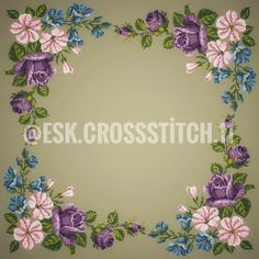 Hobbies And Crafts, Diy And Crafts, Mavis, Cross Stitch Flowers, Needlework, Tapestry, Cross Stitch Embroidery, Embroidery Stitches, Driveways