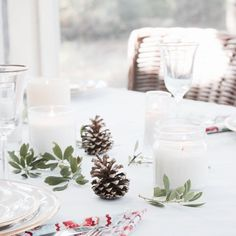 Rustic Look for the Holidays: Simple Nature Decor