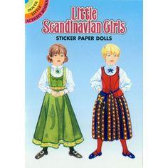 Little Scandinavian Girls Paper Dolls