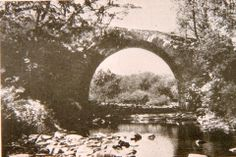 The structure in the photo is the culvert that was near the Foot of Plane No. 10. This culvert allowed Blair Gap Run to flow underneath the Allegheny Portage Railroad. The culvert and the lower portion of the incline were washed away during the 1936 St. Patrick's Day Flood. (dkb)