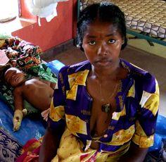 Reparto pediatrico Clinique St. Damien, Ambanja (Madagascar)