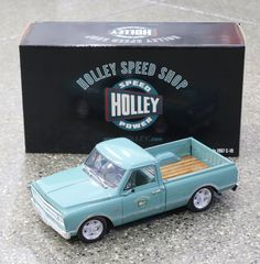 ACME 1967 Chevrolet C-10 Pickup Holley Speed Shop 1:18 Scale Diecast A1807204 | eBay