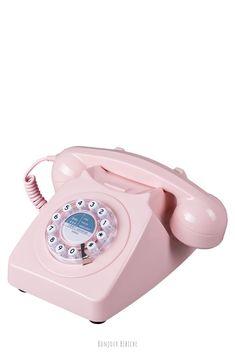 Bonjour Bibiche - Happy concept-store made in Paris Telephone Vintage, Bureau Design, Vintage Design, Landline Phone, Puerto Rico, Concept, Authentique, Paris, 80s Fashion