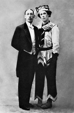 Stravinski y Nijinski, nel estreno de La consagración