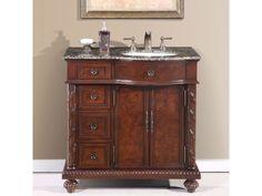 Bathroom: Simple Bathroom Vanity Lowes Design To Fit Every . Project Source Golden Bathroom Vanity Common: 36 In X 21 . 36 Inch Modern Single Sink Bathroom Vanity With Cream . Baltic Brown Granite, Bathroom Styling, Bathroom Vanity Cabinets, Small Bathroom, Vanity, Amazing Bathrooms, Vanity Sink, Stone Bathroom Sink, 36 Bathroom Vanity