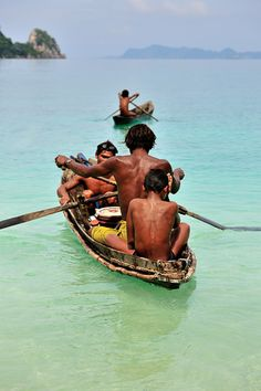 Moken: Sea Gypsies of Myanmar