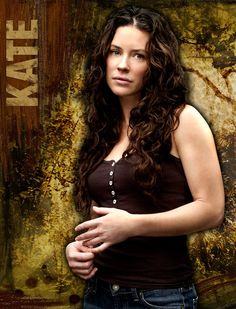 Evangeline Lily -Kate on Lost.  Ridiculous natural beauty