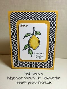 A Happy Thing Stampin' Up!  www.stamplikeaprincess.com Because you don't have to be a princess to stamp like one.....
