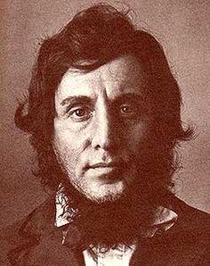 Henry David Thoreau (Concord, 1817 – Concord, 1862) è stato uno scrittore, filosofo, ambientalista e attivista statunitense.