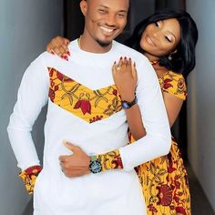 Beautiful Ankara Street Styles To Glam Up Your Looks - Afro Fahionista Couples African Outfits, African Dresses Men, Latest African Fashion Dresses, Couple Outfits, African Print Fashion, Africa Fashion, African Attire, African Wear, Ankara Fashion