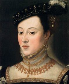 Guiseppe Arcimboldo, Bust of a Daughter of Ferdinand I,1563, oil on wood, 44 x 34 cm (Kunsthistorisches Museum, Vienna)