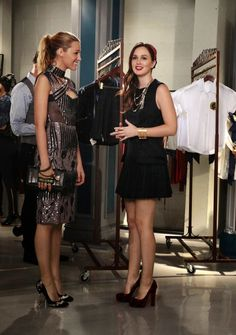 Serena and Blair Waldorf | Gossip Girl