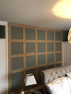 Easy way to create wood paneling – End of the Row – Home Renovation White Wood Paneling, Wood Panneling, Wooden Panelling, Wooden Wall Panels, Wood Panel Walls, Paneling Walls, Wall Panelling, Interior Wood Paneling, Living Room Panelling