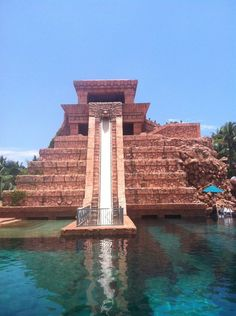 Atlantis - This was the slide I went down that I thought was going to be the death of me.  Let me just say this, the people in line behind me got OUT of line after watching me go down this slide.  Good times!