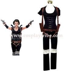 Resident Evil Afterlife Alice Cosplay Costume