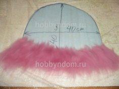 валяная шапка для бани (46)