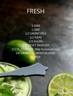 Photo/Styling: by Therese Knutsen - My recipes - Green smoothie