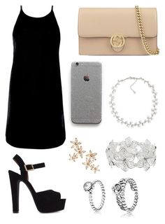 """PRP"" by liamaexo ❤ liked on Polyvore featuring Motel, Steve Madden, Gucci, Carolee, Bonheur, M&Co and Pandora"