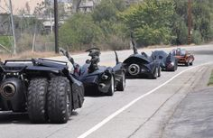 Wow... i want one of that batmobil
