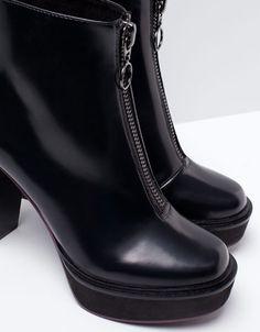 Bershka Ukraine - Bershka platform boots with heels