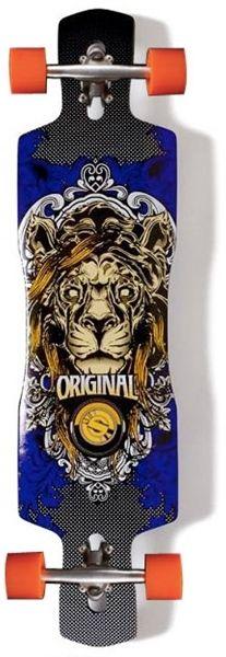 "Original Freeride ""Beast"" 41"" Lion Rocker Concave Complete Longboard $219.95 at Action Board Sports"