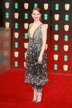 See the 9 best dressed celebrities on the BAFTA red carpet in London...