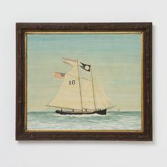 Terrain Mary Maguire Pilot Ship Watercolor #shopterrain