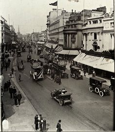 Regent St, 1920. The Shops of Old London ++ http://spitalfieldslife.com #glassslides