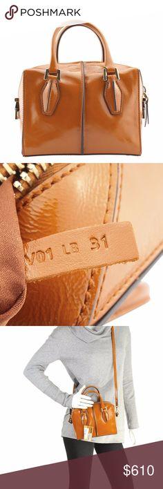724ba629e043 Tods D Cube Mini Leather Shoulder Bag (116488)