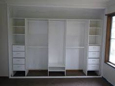 cabinetry robe fitout white - Google Search