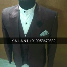 Men Designer Slim Fit 3 Piece Suit WhatsApp : +919953670839 Worldwide Shipping & Delivery