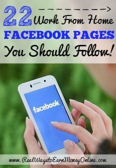You can find great work from home info on Facebook if you just follow the right pages! Here is a list of 22 work from home Facebook pages that are known for providing only legit, quality work from home information.
