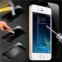 0.94$  Buy here - 0.2mm Tempered Glass Screen Protector for Iphone 5  5c 5s 32gb  9H Hardness Anti-scratch Shatterproof Fingerprint   #buyininternet