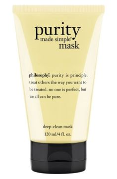 philosophy 'purity made simple' deep-clean mask | Nordstrom