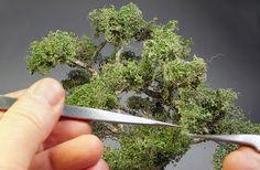 TrainScape: Árbol de alambre. Wire Art Sculpture, Herbs, Fairy Gardens, Cinema 4d, Layouts, Tips, Nature, Painting, Craft