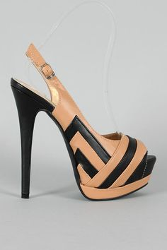 I'm in love with these shoes!! Love that they're slingbacks