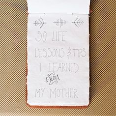 Show someone special how much you care with this DIY Life Lessons Notebook! It makes a great gift!