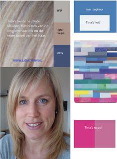 Zo kan jouw persoonlijk kleurenpalet er uitzien #kleurenanalyse