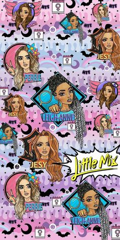 Little mix power wallpaper👑💟 Jesy Nelson, Little Mix Girls, Little Sisters, Ariana Grande Single, Little Mix Lyrics, Little Mix Perrie Edwards, Power Wallpaper, Litte Mix, Mixed Girls