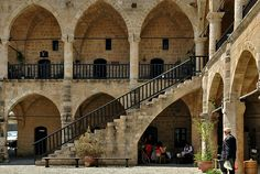 Büyük Han, Lefkosa (Nicosia), Cyprus - Photograph by Helen Betts - The Büyük Han is one of the most important architectural works of the Ottoman period. It is known as The Great Inn, and is located in the traditional market center within the city walls of Nicosia.