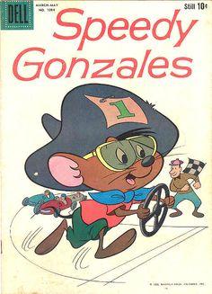 COMIC speedy gonzales four color #comic #cover #art