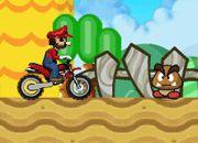 Mario Moto Racing | juegos de mario bros - jugar online