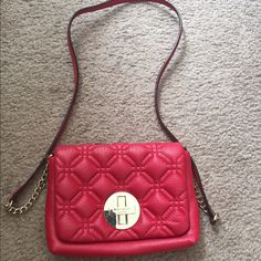 Gorgeous red Purse by Kate Spade !! Gorgeous red Purse by Kare Spade !!   Used it once almost new kate spade Bags