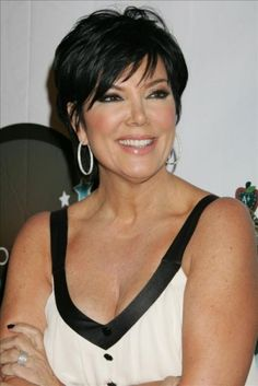 back of kris jenner haircut 2015 | Kris Jenner Kardashian Hairstyle