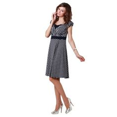 Amazon.com: Border Half Sleeve Maternity and Nursing Dress: Clothing