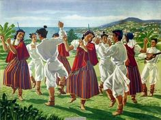 Madeira Island Culture is rich in cultural traditions, resulting from experience… Beautiful Meaning, Big Country, Naive Art, Adventure Is Out There, Island Life, Fabric Painting, Creative, Old Things, The Incredibles