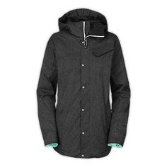 The North Face Women's Jackets & Vests WOMEN'S SOCIALIZER DENIM JACKET