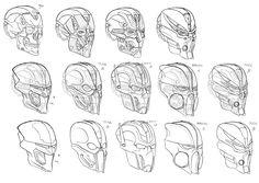 ArtStation - Toa - head anatomy, Max Mekrani