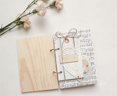 mini quote book by Vanessa for Gossamer Blue
